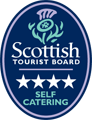 Our Glencoe cottages are graded 4 Star self catering by the Scottish Tourist Board